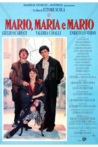 Mario, María e Mario