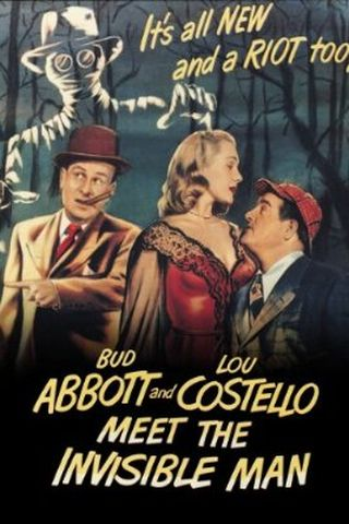 Abbott e Costello e o Homem Invisível