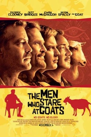 Os Homens Que Encaravam Cabras