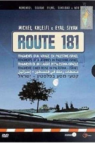 Route 181, Fragmentos de uma Viagem na Palestina-Israel