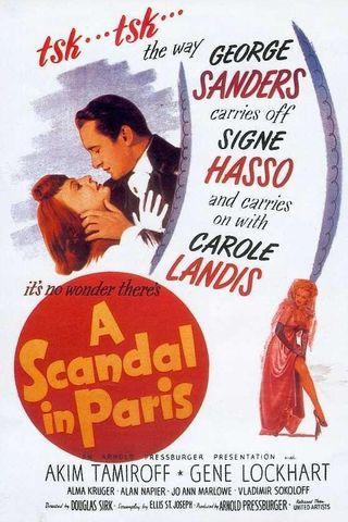 Um Escândalo em Paris