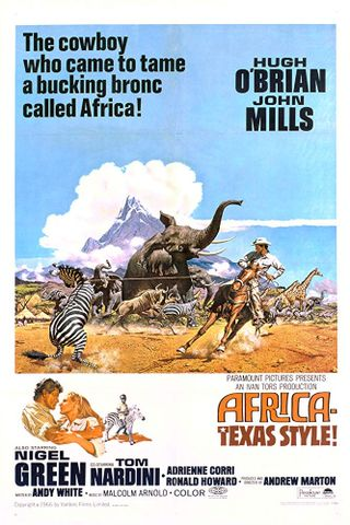 Jim, um Cowboy na África