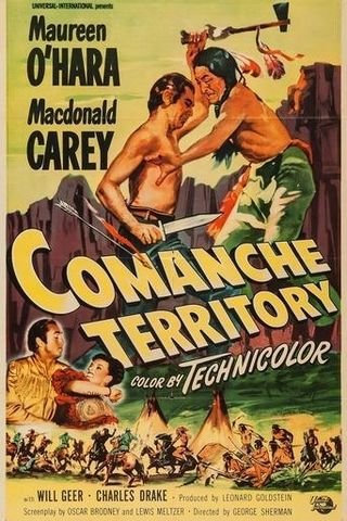 Território Comanche, Terra Selvagem