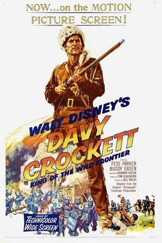 Davy Crockett, o Rei das Fronteiras