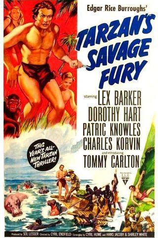 Tarzan e a Fúria Selvagem