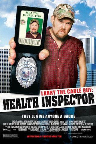 Larry, o Cara da TV a Cabo: Inspetor de Saúde
