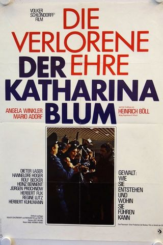 A Honra Perdida de Katharina Blum