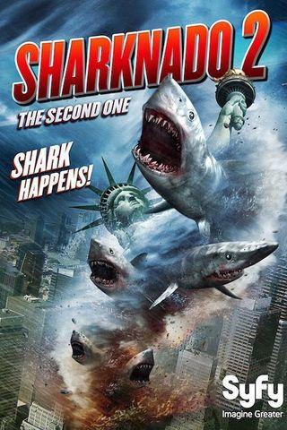 Sharknado 2: A Segunda Onda