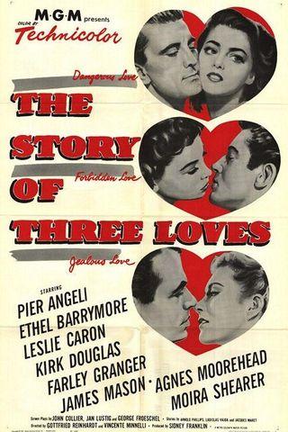 A História de Três Amores